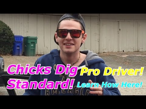 Kid Ricer Teaches How To Drive Standard