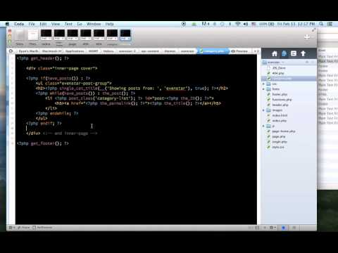 Build a WordPress Website from HTML Template - 10 (404.php and category.php)