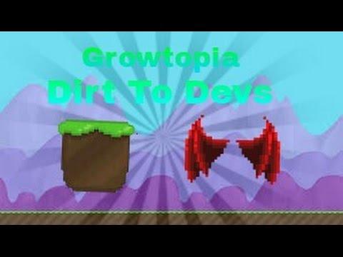 Growtopia - Dirt To Devs Part 1 (New beginnings)