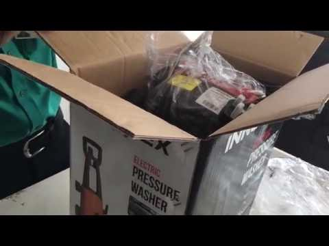 Damro Innovex high pressure washer unboxing and assembling (IPW001)