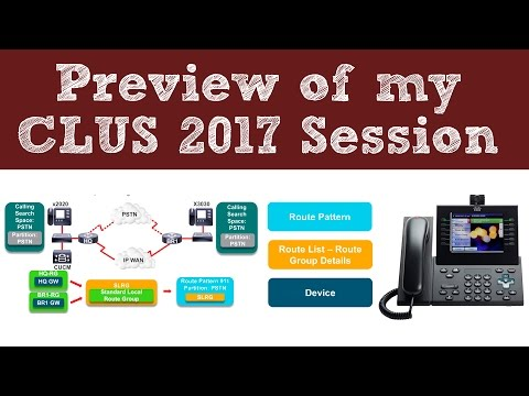 A Preview Of My CLUS (Cisco Live US) 2017 Session