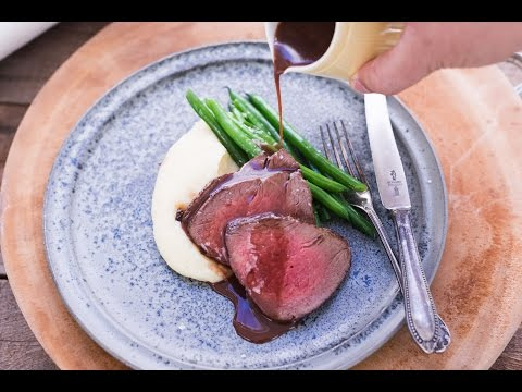 Rare Beef Fillet with Red Wine Glaze | Easy Recipe |  ASKO Elements Steam Oven