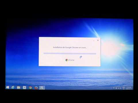 Windows 8.1 How to install Google chrome browser