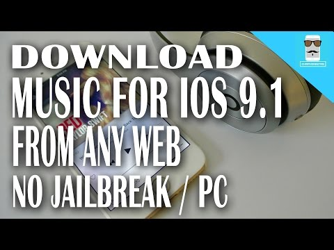 Download unlimited music iOS 9 - 9.1 without jailbreak from any web for free