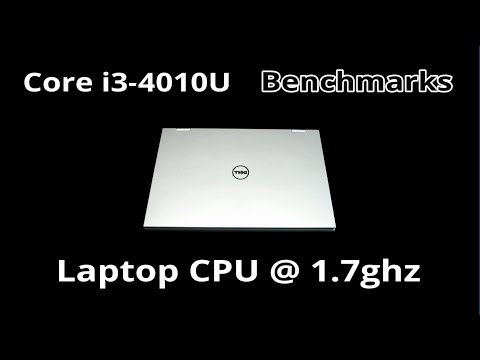 Intel Core i3-4010U Benchmarks - Cinebench/Geekbench/Render