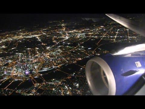 Amazing Night Landing At Dallas Fort Worth