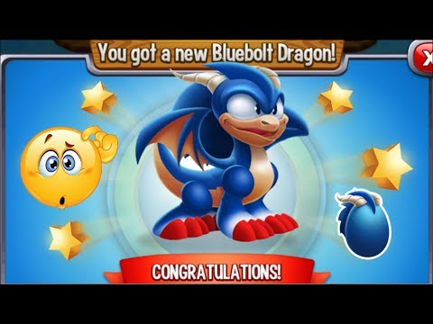 Dragon City - Bluebolt Dragon [Video Game Island | Completed Walkthrough]
