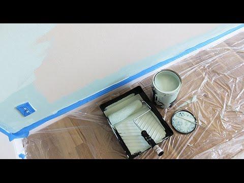 Como Pintar una Pared. Paso a Paso (PARTE 2) | Live Colorful