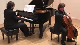 Piano & Cello: The Swan, Vocalise, Oblivion, Songs without Words (Cihan Yücel & Ignacy Gaydamovich)