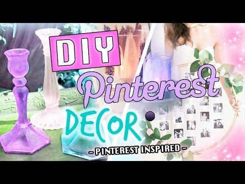 Pinterest MUST TRY DIYS // DIY DECOR 2016