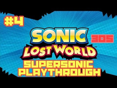 Sonic Lost World (3DS) - Super Sonic Playthrough #4: Windy Hill Zone 3
