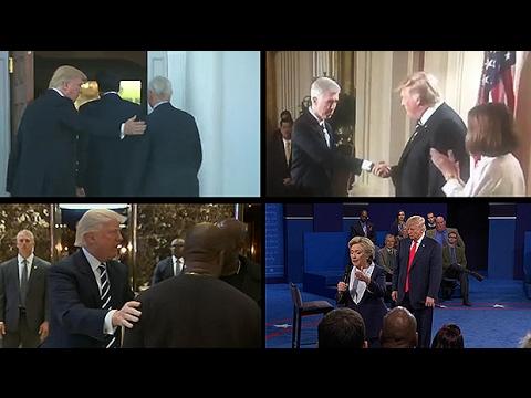 Donald Trump's alpha male body language