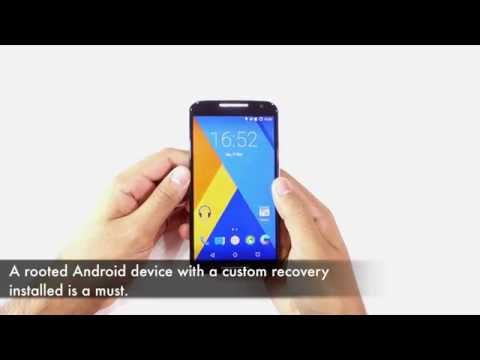 Installing a custom ROM on a rooted Android device