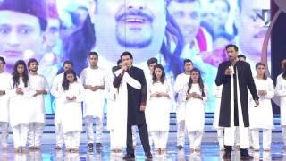 Ali Zafar Soulful Tribute To Amjad Sabri at the Lux Style Awards 2016