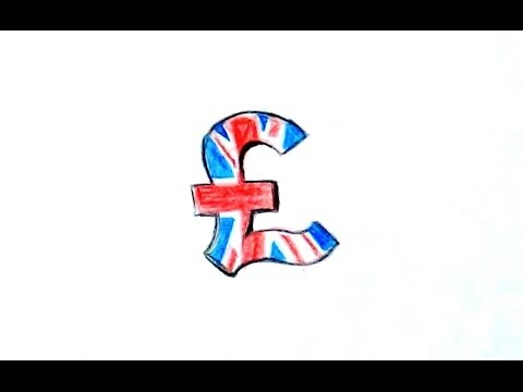 How To Sketch Pound Sign / Simple Colorful Pound Sign: Flag Style