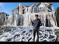 TOILET PAPER PRANK ON HOUSE!