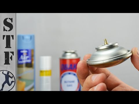 3 Things You Can Make From Aerosol Spray Cans
