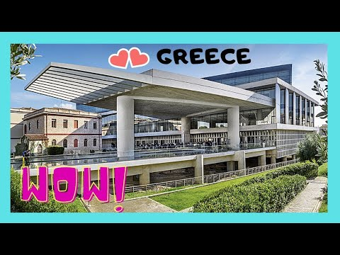 GREECE: A romantic night at the ACROPOLIS MUSEUM in ATHENS