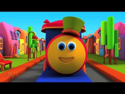 abc song bob | nursery songs | kids train song