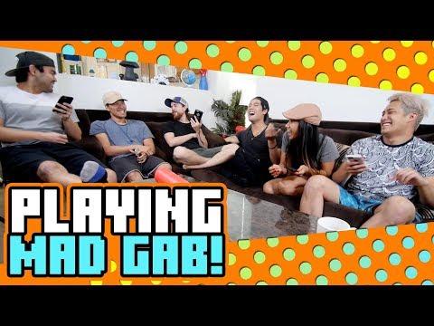 Playing Mad Gab!