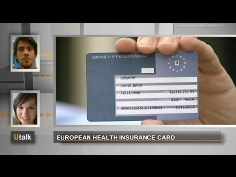 euronews U talk - U-talk - the European Health Insurance Card