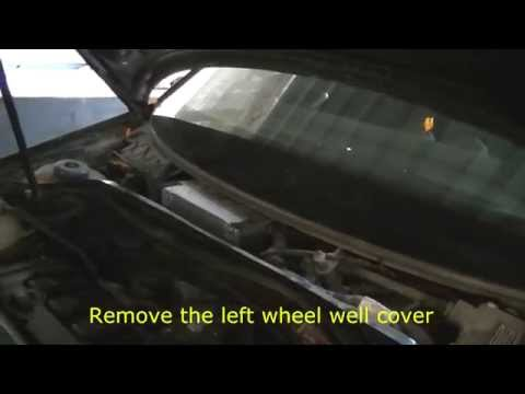 Audi A3 2.0 FSI Transmission Control Module location