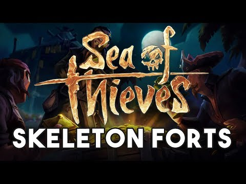 Skeleton Forts in Sea of Thieves!!