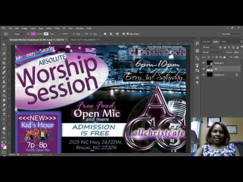 Photoshop Tutorial for Churches: Create a City Lights Background
