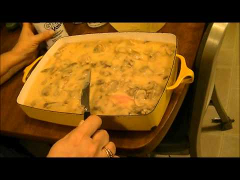 Baked Pork Chops with Mushroom Gravy...So Tender they Melt in your Mouth!!