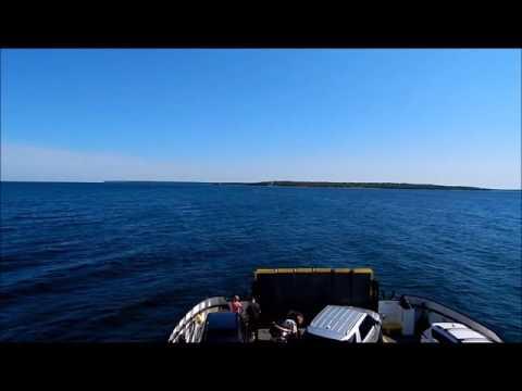 Ride on Washington Island Car Ferry in Wisconsin