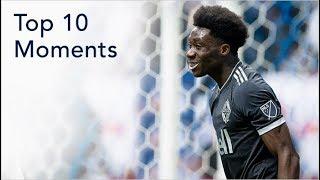 Top 10 Moments: Alphonso Davies
