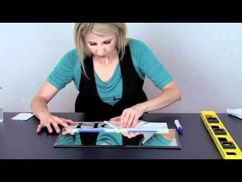 How To Apply Vinyl Lettering Using the