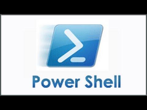 1  - Initiation à Microsoft Windowd Power Shell