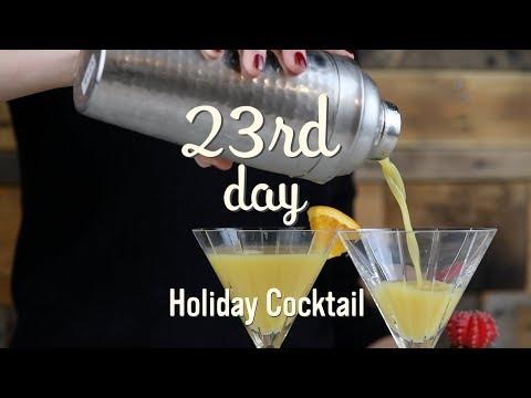 Christmas Treats | Holiday Cocktail | 23