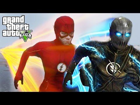 FLASH VS ZOOM !!! GTA 5 MODS
