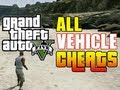 GTA 5 ALL CAR CHEAT CODES! (Vehicle Cheat Codes GTA V Xbox ...