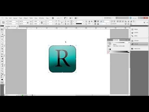 InDesign Tutorial: Easy way to create your own logo