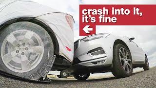 The Collapsible Crash Test Robot Car