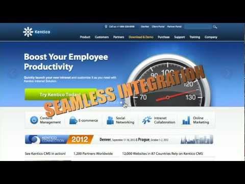 Kentico CMS for ASP.NET - Best Web Content Management System