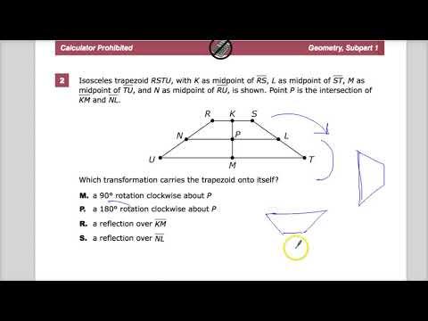 Question 2 -  Geometry  - TNReady Practice Test
