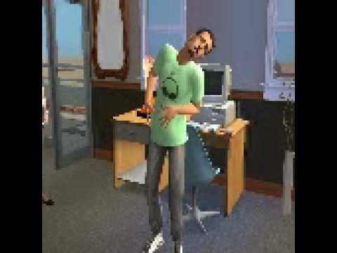 Sims 2- Sim Guy has ALIEN twins!