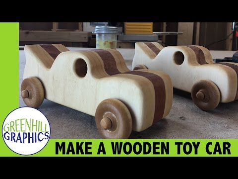 Making a Wood Toy Car for Kids