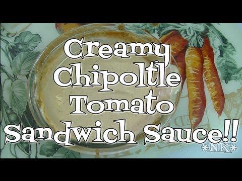 Creamy Chipoltle Tomato Sandwich Sauce! Noreen's Kitchen