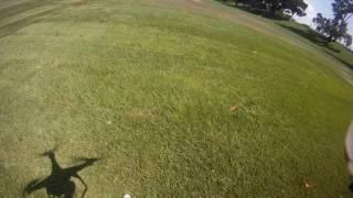 GoPro1 on a Phantom2 stunts