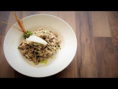 Mushroom Risotto Recipe | How To Make Mushroom Risotto | Mushroom Cream Risotto at Zucchini