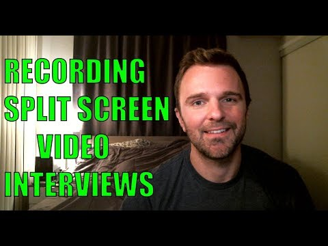 How To Record Split Screen Video Interviews On Skype