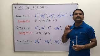 Salt analysis - 1- distinguishing test Tips & tricks
