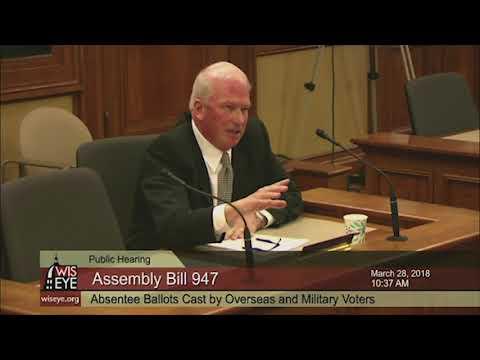Morning Minute: Wisconsin Assembly Bill 947
