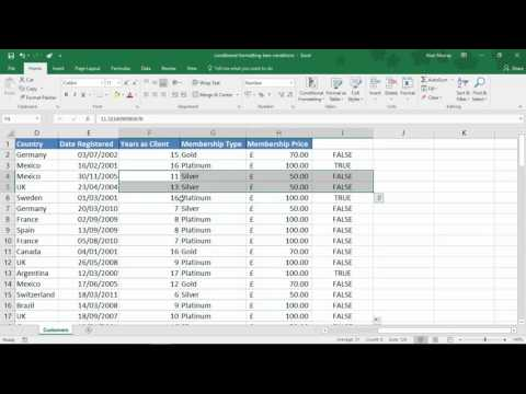 Conditional Formatting with Two Conditions - Excel Tip