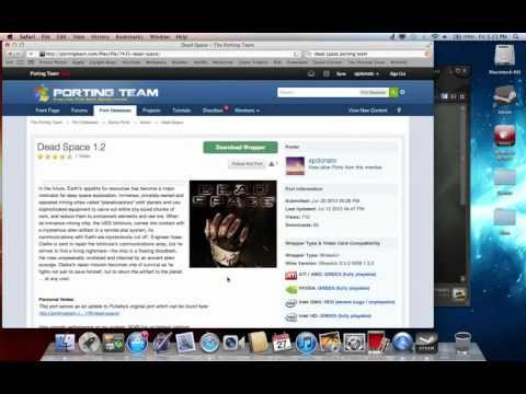 Getting windows games to run in Mac OS X (THE RIGHT WAY!) [HD] Part 1
